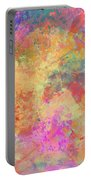 Happiness Abstract Painting Portable Battery Charger
