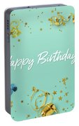 Happy Birthday Party Scene Layflat Portable Battery Charger