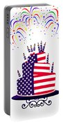 Happy Birthday Usa Portable Battery Charger