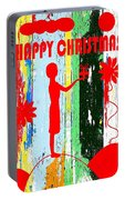 Happy Christmas 14 Portable Battery Charger