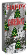 Happy Christmas 22 Portable Battery Charger