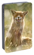 Happy Fox Is Happy Portable Battery Charger