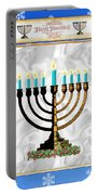 Happy Hanukkah Portable Battery Charger