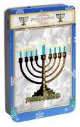 Happy Hanukkah Portable Battery Charger