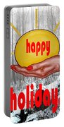 Happy Holidays 26 Portable Battery Charger