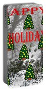 Happy Holidays 29 Portable Battery Charger