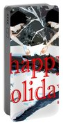Happy Holidays 30 Portable Battery Charger