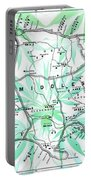 Happy Jamaica Map Portable Battery Charger