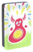 Happy Jumping Creature Portable Battery Charger