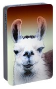 Happy Llama Portable Battery Charger by Myrna Migala