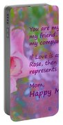 Happy Mothers Day 2 Portable Battery Charger
