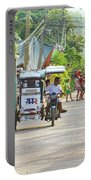 Happy Philippine Street Scene Portable Battery Charger