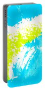 Happy Rice Mixed Media Portable Battery Charger