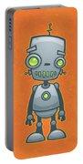 Happy Robot Portable Battery Charger by John Schwegel