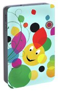 Happy Spring Image Portable Battery Charger