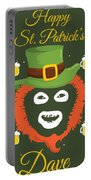 Happy St Patrick's Dave League Of Gentlemen Inspired Papa Lazarou  Portable Battery Charger