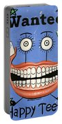Happy Teeth Portable Battery Charger