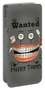 Happy Teeth T-shirt Portable Battery Charger
