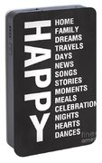 Happy Things Portable Battery Charger