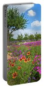 Happy Trail At The Farm Portable Battery Charger