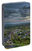 Happy Valley Residential Neighborhood During Sunset Portable Battery Charger