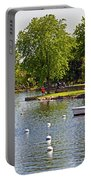 Harbor At Riverside Park Portable Battery Charger