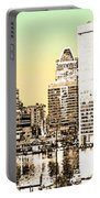 Harbor Lights From Federal Hill - Drawing Fx Portable Battery Charger