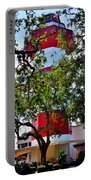 Harbour Town Lighthouse Portable Battery Charger by Lisa Wooten