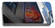 Hard Rock Cafe N Y C Portable Battery Charger