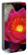 Hardy  Day Water Lily Portable Battery Charger