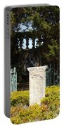 Harkness Garden Statue 1 Portable Battery Charger