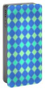Harlequin Minty Fresh Portable Battery Charger