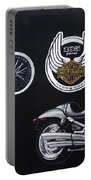 Harley Davidson 105th Anniversary Portable Battery Charger