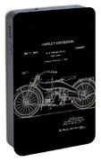 Harley Davidson Motor Cycle Patent 1924 Portable Battery Charger