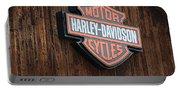 Harley Davidson Sign In West Jordan Utah Photograph Portable Battery Charger