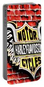 Harley Davidson Wings Portable Battery Charger
