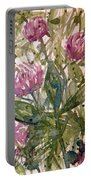 'harmony, Wisdom And Understanding From The Red Clover' Portable Battery Charger