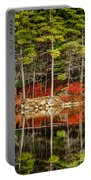 Harold Parker State Park In The Fall Portable Battery Charger
