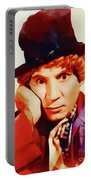 Harpo Marx, Hollywood Legend Portable Battery Charger