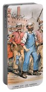 Harrison Cartoon, 1888 Portable Battery Charger