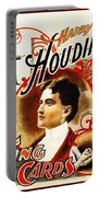 Harry Houdini - King Of Cards Portable Battery Charger