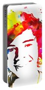 Harry Styles Paint Splatter Portable Battery Charger