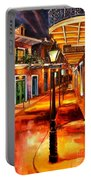 Harrys Corner New Orleans Portable Battery Charger by Diane Millsap