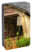 Harshman Covered Bridge Portable Battery Charger