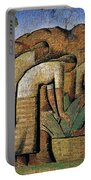 harvest, by Alfredo Ramos Martinez Portable Battery Charger