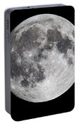 Harvest Moon At 99 Pct. Waxing Gibbous Portable Battery Charger