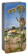 Harvest Mouse And Backhoe Portable Battery Charger