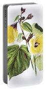 Hau Flower Art Portable Battery Charger