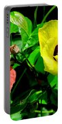 Hau Tree Blossoms Portable Battery Charger