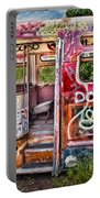Haunted Graffiti Art Bus Portable Battery Charger